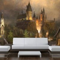 Wall STICKER MURAL wizards castle world decole poster by ...
