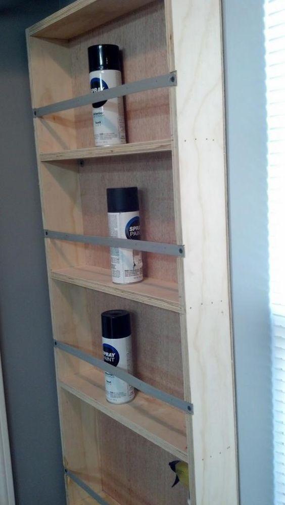 Spray Paint Cabinet  Van racking  Pinterest  Spray