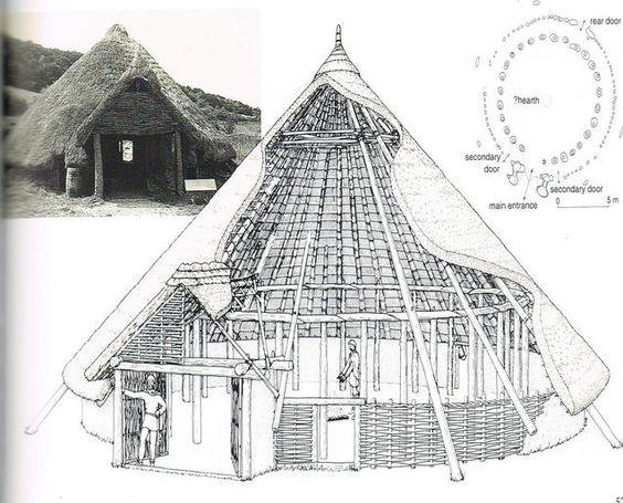 Celtic house. #Woad novel inspiration. History of