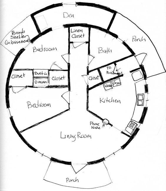 Dymaxion House Floor Plan