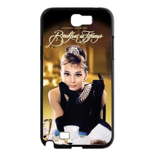 Audrey Hepburn Breakfast At Tiffanys Samsung Galaxy Note 2 N7100 Case US 1650 Movies And TV