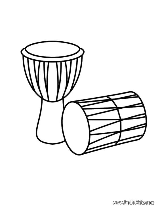 African Coloring Pages: Kwanzaa Coloring Pages Africa Map