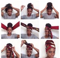 this is a good way to sleep at night with your braids