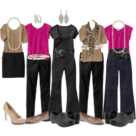 Teacher Clothes Capsule Wardrobe CapsulesWorkwear