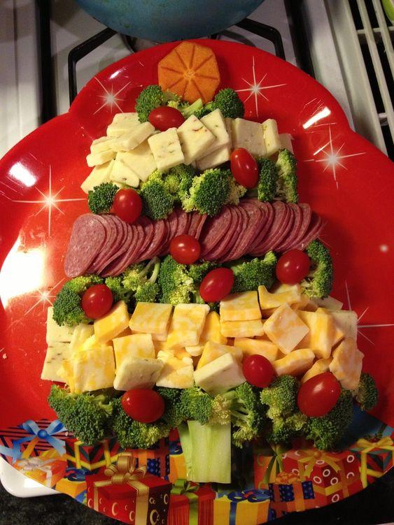 comchristmasfruitandvegetableplatterideas  Holiday Cheer  Pinterest  Christmas trees
