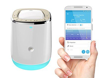 Motorola Smart Nursery Dream Machine Audio Baby Monitor with Lightshow Projector: