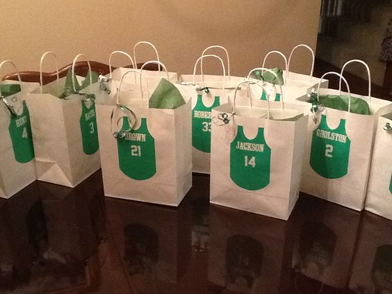 Basketball Team Goody Bags My DIY Creations Pinterest