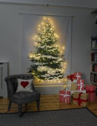 Wall hangings, Tree wall and Christmas trees on Pinterest