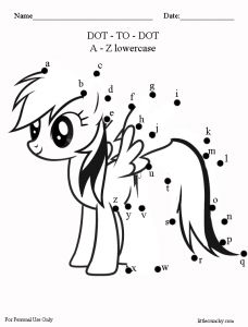Ponies, My little pony and Worksheets on Pinterest