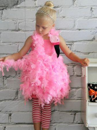 Flamingo Kostüm selber machen |Kostüm-Idee zu Karneval, Halloween & Fasching: