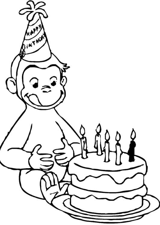 Coloring pages, Birthdays and Coloring on Pinterest
