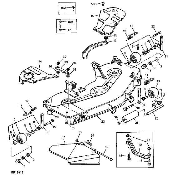 John Deere Z445 Wiring Diagram