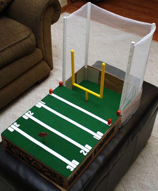 Football Field Valentine Box And Fields On Pinterest