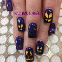 Pumpkin Partay #nails #nailart #naildesign #halloween ...