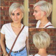 hair unique and blonde pixie