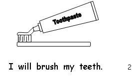 Dental Health Emergent Readers for Dental Health from