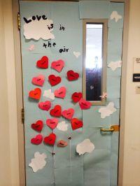 Valentine's Day Office Door Decoration. Each heart has an ...