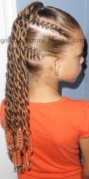 black girls hairstyles fall