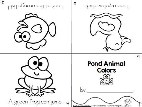 My Science Journal: Pond Animals Your preschool