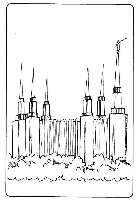 { mormon share } temple  washington coloring pages and