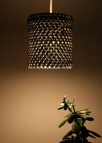 Aluminum can crafts, Lamp shades and Pendant lights on ...
