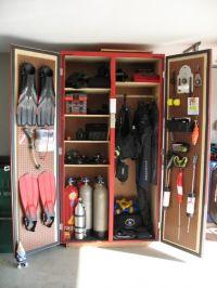 diving gear storage ideas - Google Search | Scuba diving ...