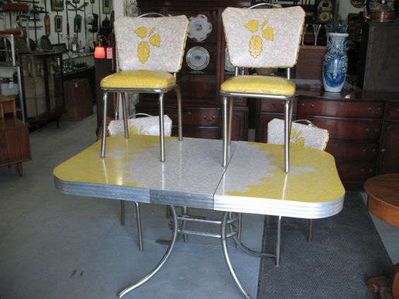 Table and chairs, Other and Formica table on Pinterest