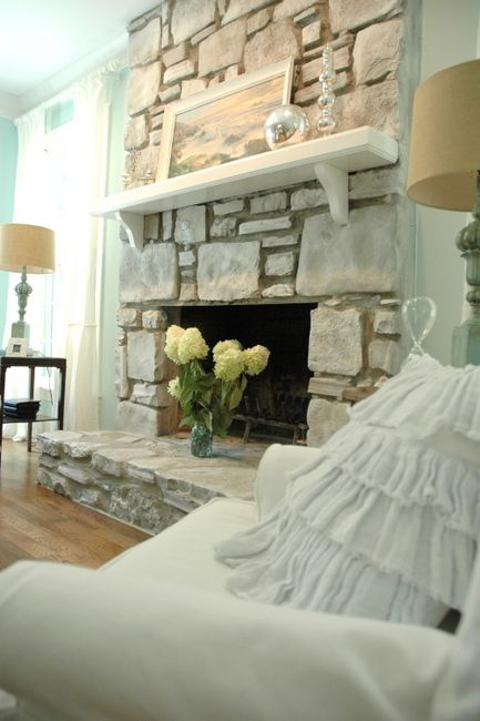 Fireplace makeover-my favorites