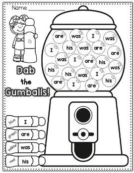 Sight-Words-FREEBIE-1814491 Teaching Resources