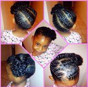 cute braid hairstyle natural