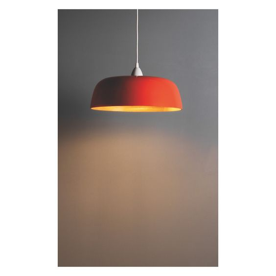 MOXLEY Orange Bamboo Easy To Fit Ceiling Shade Buy Now At Habitat UK Lighting Pinterest