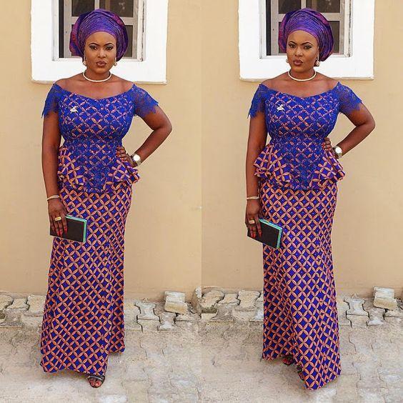 15 Latest Ankara Skirt And Blouse Styles 2017 Fashion Nigeria