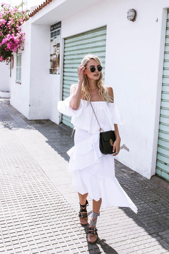 Twirling around in all white, Miu Miu sandals & Chloé Drew in Antoni de Portmany, Ibiza | More here: http://www.ohhcouture.com/2016/07/all-white-miu-miu-flats-ibiza-spain/ #ohhcouture #leoniehanne #ohhibiza
