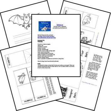Stellaluna Free Unit Study and Lapbook; matches: The 20th