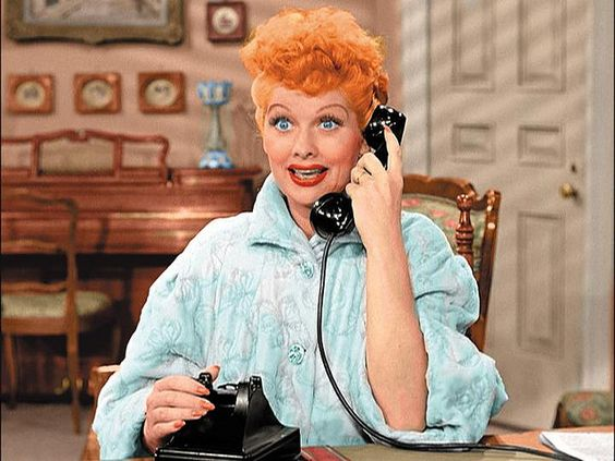"""Lucy Ricardo"" Colorized Lucille Ball In A Scene From ""I"