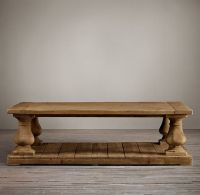 Balustrade Salvaged Wood Coffee Tables | Coffee Tables ...