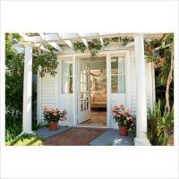 Pergolas, Front doors and Doors on Pinterest