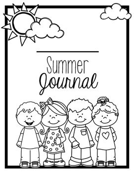 Print this summer journal to use during their summer break