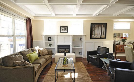 Rectangular Living Room Design, Pictures, Remodel, Decor