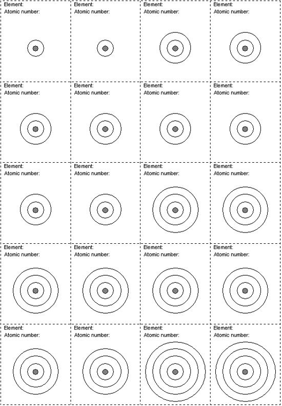 electron dot diagram worksheet middle school example business process modeling notation shell | projects to try pinterest tables ...