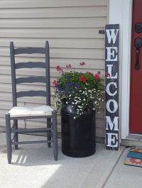 Vertical Welcome Sign, Entryway Sign, Front Door Sign ...