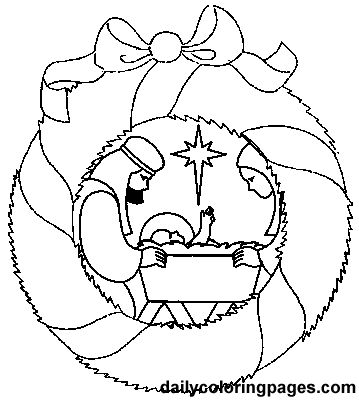 Nativity, Nativity ornaments and Coloring sheets on Pinterest