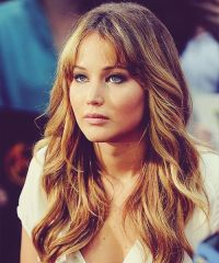 jennifer lawrence hair color her hair colors and ombre on ...