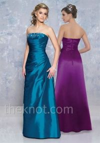 Teal and Purple Bridesmaid Dresses | Bridesmaid & Flower ...