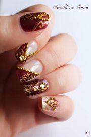 indian nails and bridal