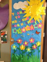 teacher appreciation door decorating | PTO | Pinterest ...