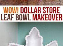 Wow! This dollar store find got a serious makeover ...