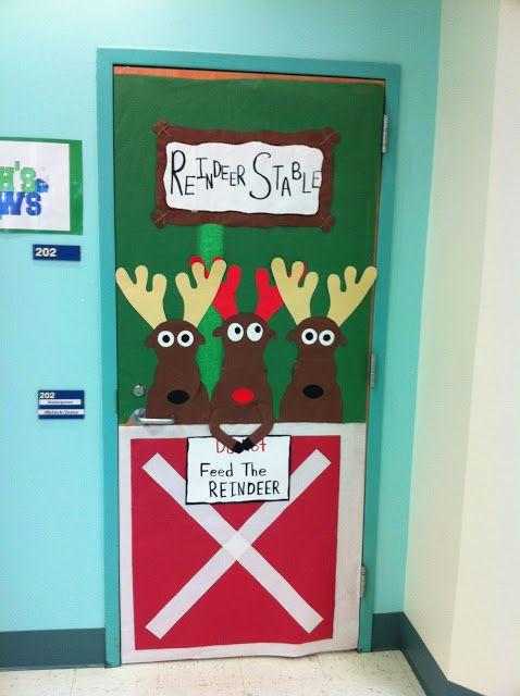The Best Christmas classroom door decorating ideas EVER