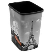 Decorative Paris Trash Can - BedBathandBeyond.com ...