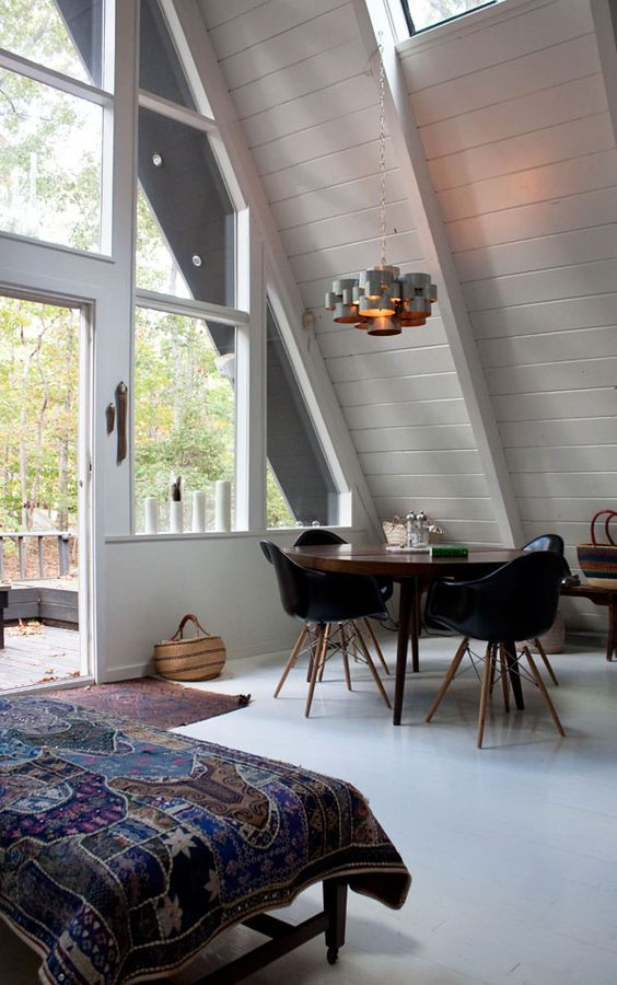 The Mid-Century A-Frame - Modern Tiny House
